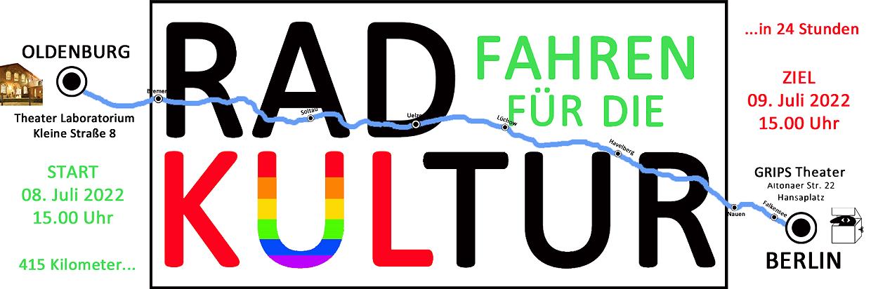 RADFAHREN FÜR DIE KULTUR 2. Fahrt 2022